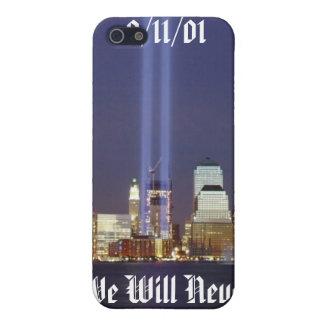 Nunca olvidaremos iPhone 5 carcasas