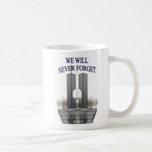 Nunca olvidaremos la taza