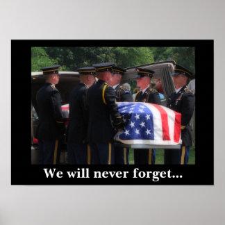 Nunca olvidaremos… impresiones