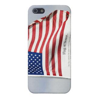 Nunca olvide 9/11 bandera de iPhone del honor iPhone 5 Carcasas