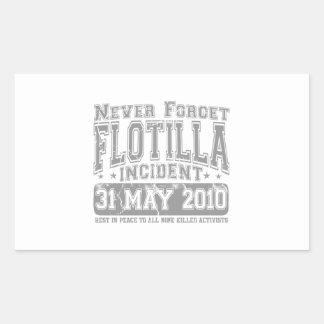 Nunca olvide el incidente del flotilla rectangular altavoces