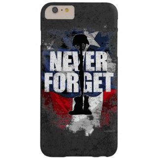 Nunca olvide (el Memorial Day) Funda De iPhone 6 Plus Barely There