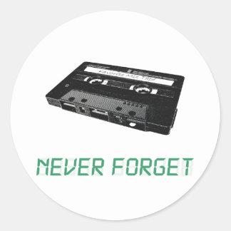Nunca olvide etiqueta