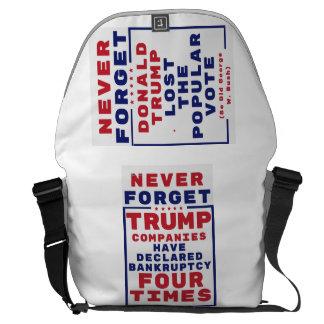 Nunca olvide las quiebras del triunfo bolsa messenger