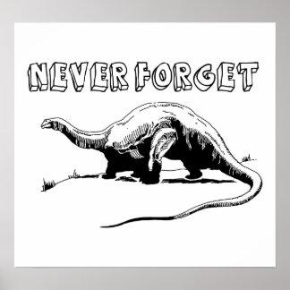 Nunca olvide poster