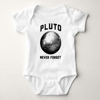 Nunca olvide Plutón Body Para Bebé