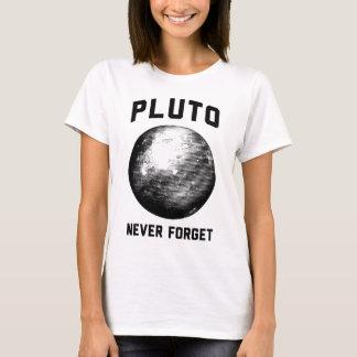 Nunca olvide Plutón Playera