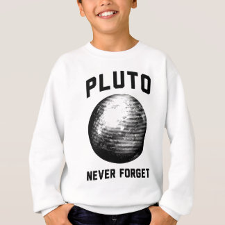 Nunca olvide Plutón Sudadera