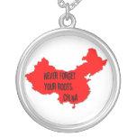 Nunca olvide sus raíces: China Colgantes