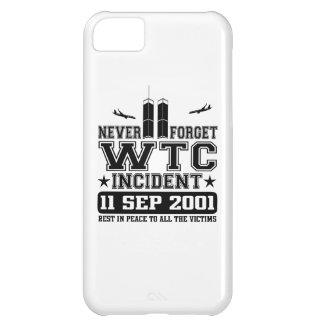 Nunca olvide World Trade Center el 11 de septiembr Carcasa Para iPhone 5C