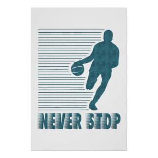 Nunca pare: Baloncesto Poster