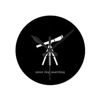 Nunca pare el buscar del telescopio relojes