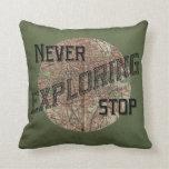 Nunca pare el explorar de la almohada