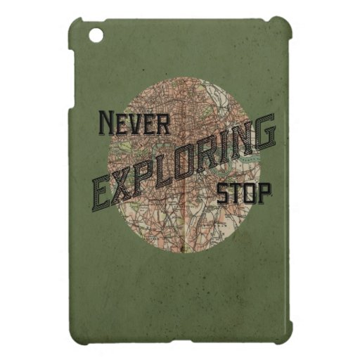 Nunca pare el explorar del mini caso del iPad iPad Mini Cárcasa