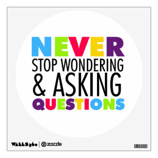 Nunca pare el preguntarse y el hacer de preguntas