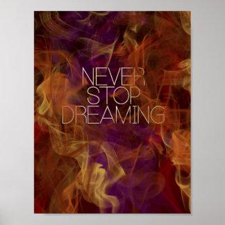 Nunca pare el soñar por Mansa Pryor Impresiones