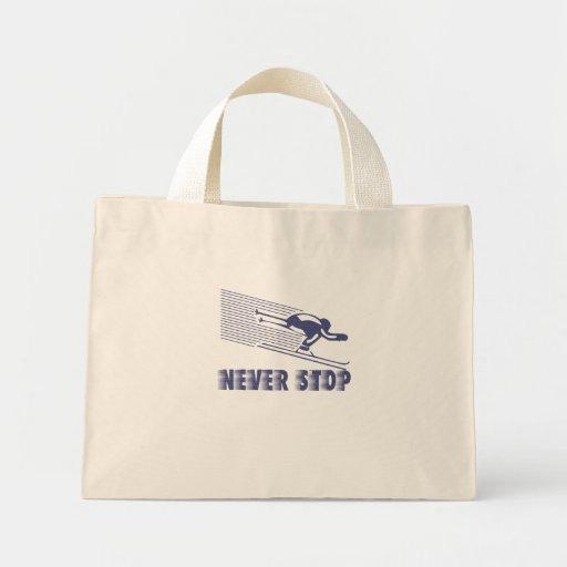 Nunca pare: Esquí Bolsas