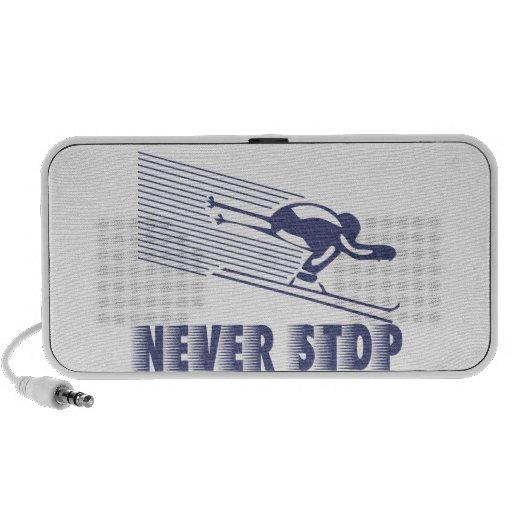 Nunca pare: Esquí Laptop Altavoces