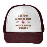 nunca perjudique gorras de camionero