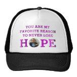 Nunca pierda la esperanza - Audrey Gorros Bordados