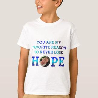 Nunca pierda la esperanza - Casey D Playera