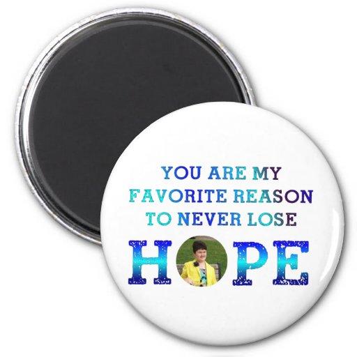 Nunca pierda la esperanza - Erinne Imán De Nevera