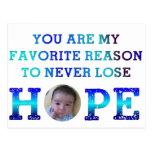 Nunca pierda la esperanza - Jay Tarjetas Postales