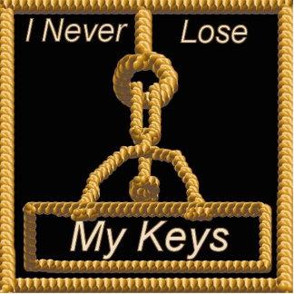 Nunca pierda mis llaves llavero fotográfico