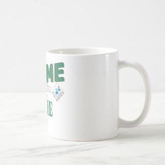 Nunca pondrán los que me confían en para shame taza de café