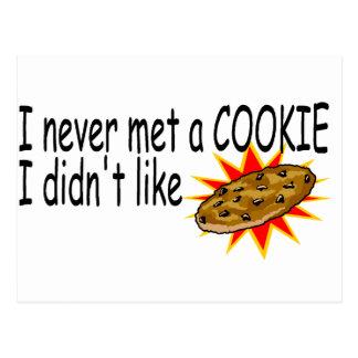 Nunca resolví una galleta que no tuve gusto postal