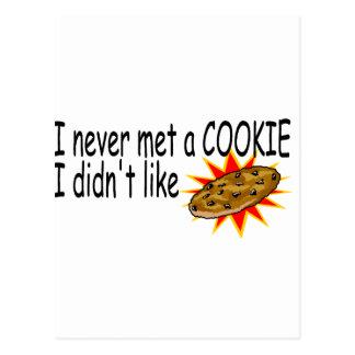 Nunca resolví una galleta que no tuve gusto tarjetas postales