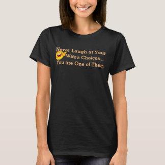 nunca ríase de su diseño de la camiseta de las