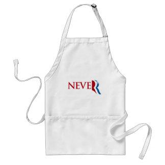 Nunca Romney png Delantal