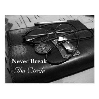 Nunca rompa el círculo postal