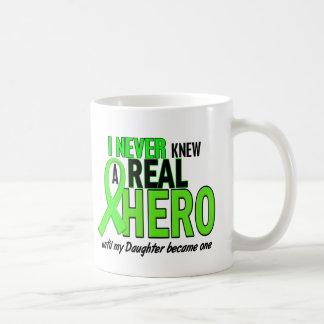 Nunca sabía una CAL real del héroe 2 (la hija) Taza Básica Blanca