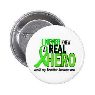 Nunca sabía una VERDE LIMA del héroe 2 (Brother) Pins