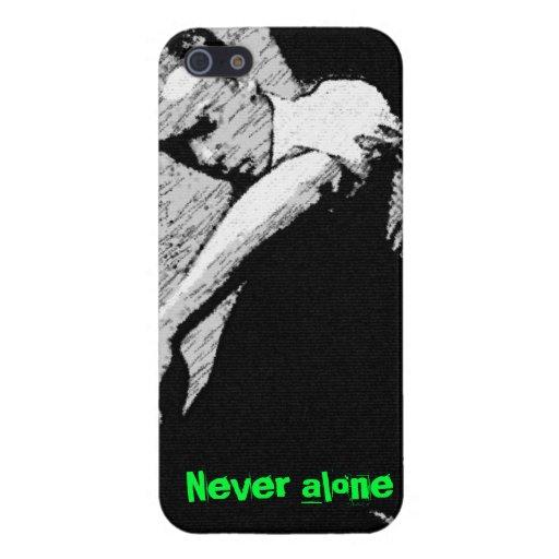 Nunca solamente iPhone 5 cárcasas