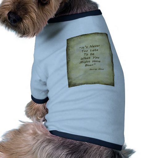 Nunca también Lage George Elliot Camisetas De Perrito