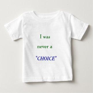 nunca una opción tee shirt
