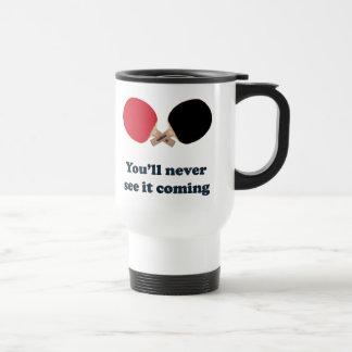 Nunca véalo ping-pong que viene taza térmica
