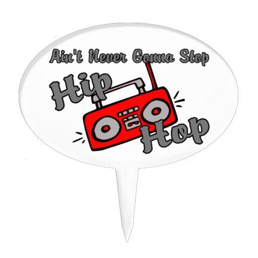 Nunca yendo a parar Hip Hop Decoraciones De Tartas