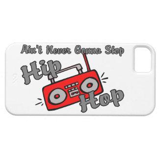 Nunca yendo a parar Hip Hop iPhone 5 Case-Mate Carcasa