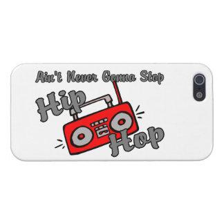 Nunca yendo a parar Hip Hop iPhone 5 Cárcasas