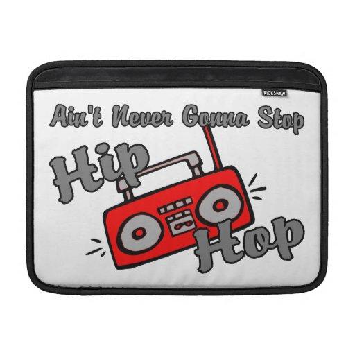 Nunca yendo a parar Hip Hop Funda MacBook