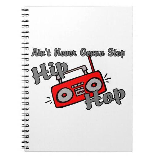 Nunca yendo a parar Hip Hop Libretas
