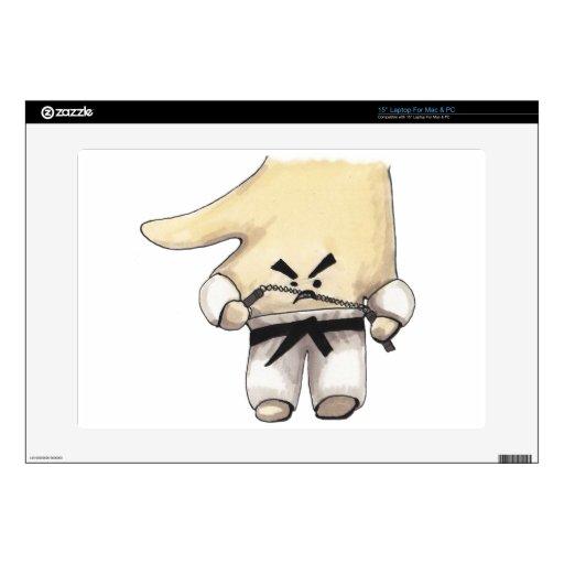 "Nunchucks 15"" Laptop Skin"