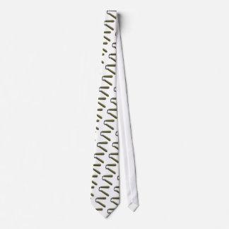 Nunchucks Neck Tie