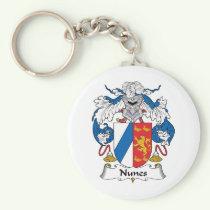 Nunes Family Crest Keychain