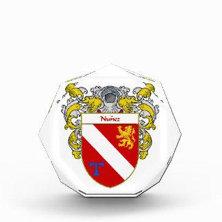 Nunez Coat of Arms Family Crest Awards