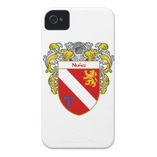 Nunez Coat of Arms/Family Crest iPhone 4 Case-Mate Cases